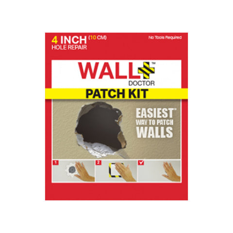 WALL DOCTOR 4 Inch Drywall Repair Patch Kit<br/>美國牆壁修補救星 10cm - Shark Tank Taiwan