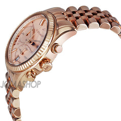 Michael Kors - Lexington Chronograph Rose Gold PVD Ladies Watch MK5569 (41% off) - Shark Tank Taiwan