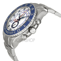 Rolex - Yacht Master II White Dial Blue Bezel Stainless Steel Automatic Mens Watch 116680WAO (6% off) - Shark Tank Taiwan