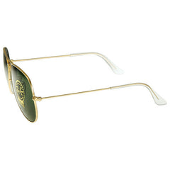 Ray Ban - Aviator Large Metal Frame Arista/Green Sunglasses RB3025 L0205 (32% off) - Shark Tank Taiwan