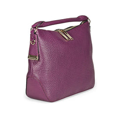 BURBERRY Small Signature Magenta Leather Hobo Bag 3882878 - Shark Tank Taiwan