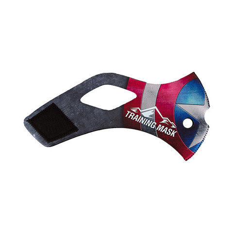 TRAINING MASK Sleeve Solid - Merica<br/>配件 - 替換面套 (美國隊長)