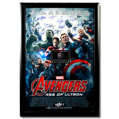 Avengers: Age of Ultron Autographed Poster - A<br/>復仇者聯盟2:奧創紀元 簽名海報 - A - Shark Tank Taiwan