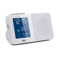 BRAUN Global Radio Controlled Alarm Clock Radio<br/>收音機旅行鬧鐘 (共2色) - Shark Tank Taiwan