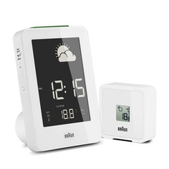 BRAUN Weather Station<br/>氣象觀測數位鬧鐘 (共2色) - Shark Tank Taiwan