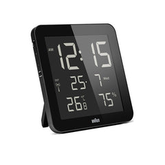 BRAUN Global Radio Controlled Digital Wall Clock<br/>電波溫濕度數位掛鐘 (共2色) - Shark Tank Taiwan