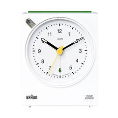 BRAUN Voice Activated Alarm Clock<br/>方型聲控鬧鐘 (共2色) - Shark Tank Taiwan