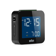 BRAUN Travel Mini Alarm Clock<br/>迷你數位旅⾏電子鬧鐘 (共2色) - Shark Tank Taiwan