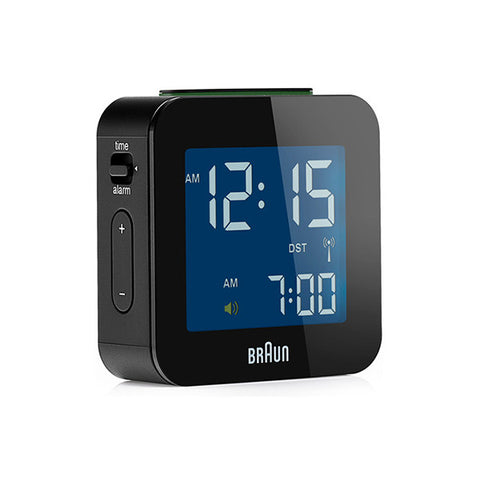 BRAUN Global Radio Controlled Travel Alarm Clock<br/>電波迷你數位旅⾏電子鬧鐘 (共2色) - Shark Tank Taiwan