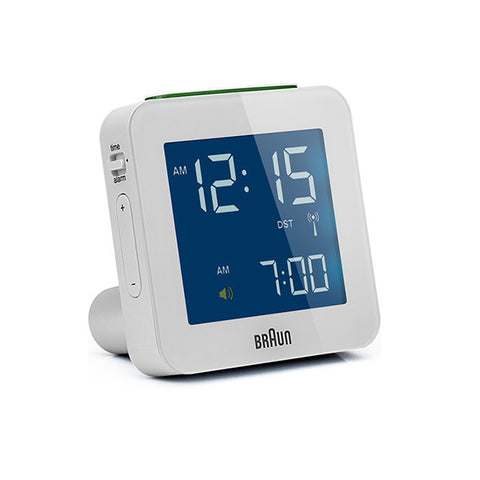 BRAUN Global Radio Controlled Alarm Clock<br/>電波數位旅⾏電⼦鬧鐘 (共2色) - Shark Tank Taiwan