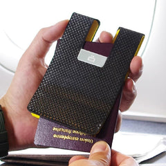 ÖGON Carbon Passport Clip RFID<br/>安全防盜碳纖維護照夾