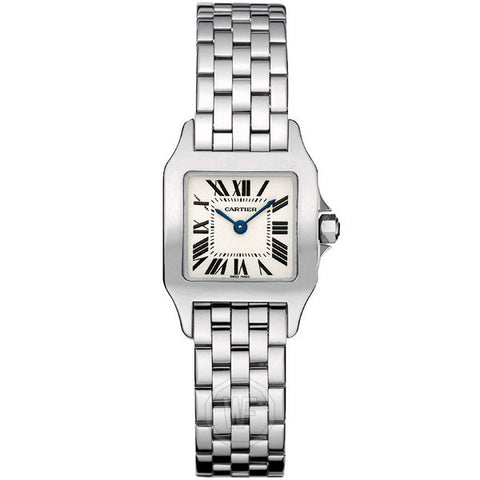 Cartier - Santos Demoiselle Steel Ladies Watch W25064Z5 (20% off)