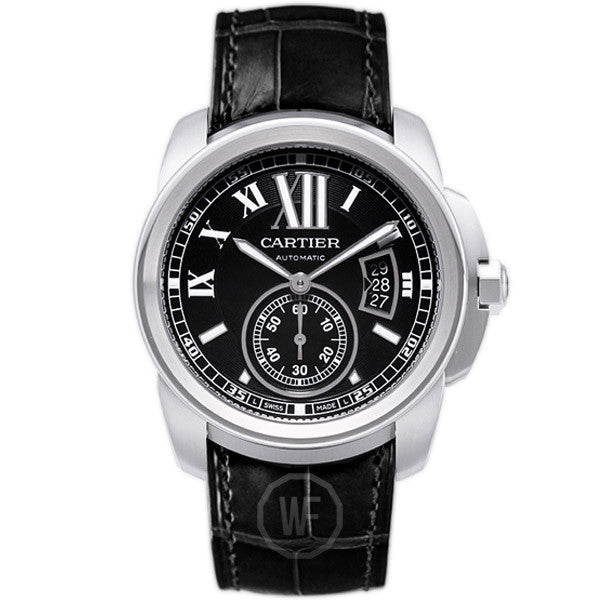 Cartier - Calibre de Cartier Steel Automatic Mens Watch W7100041 (20% off) - Shark Tank Taiwan