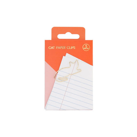 SUCK UK Paper Clips – Cat<br/>貓咪迴紋針