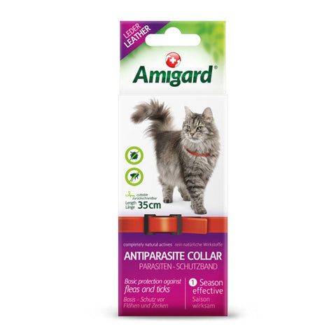 AMIGARD Spot-On Antiparasite Collar<br/>安美佳天然驅蚤項圈 - 貓咪專用 - Shark Tank Taiwan