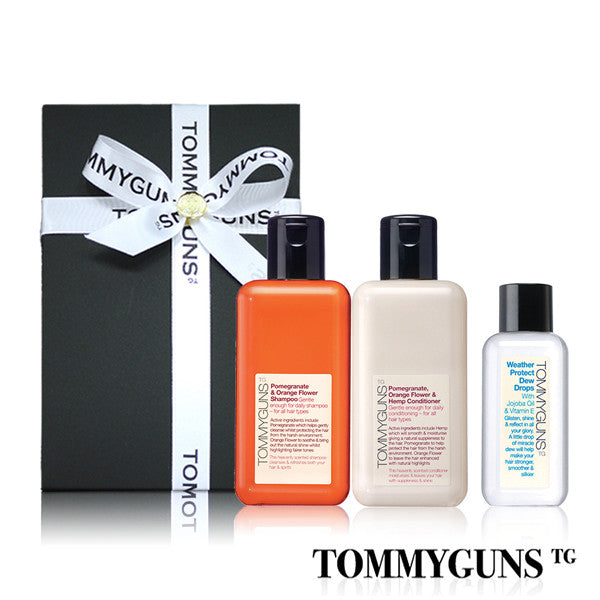 TOMMYGUNS Hair Care Set<br/>弱敏舒緩修護三部曲 - Shark Tank Taiwan