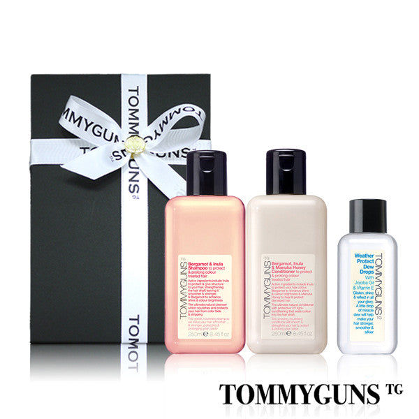 TOMMYGUNS Hair Care Set<br/>蓬鬆護色修護三部曲 - Shark Tank Taiwan