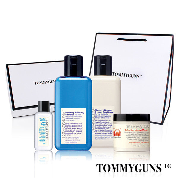 TOMMYGUNS Hair Care Set<br/>全效豐盈修護四部曲 - Shark Tank Taiwan