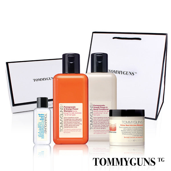 TOMMYGUNS Hair Care Set<br/>全效溫和護養四部曲 - Shark Tank Taiwan