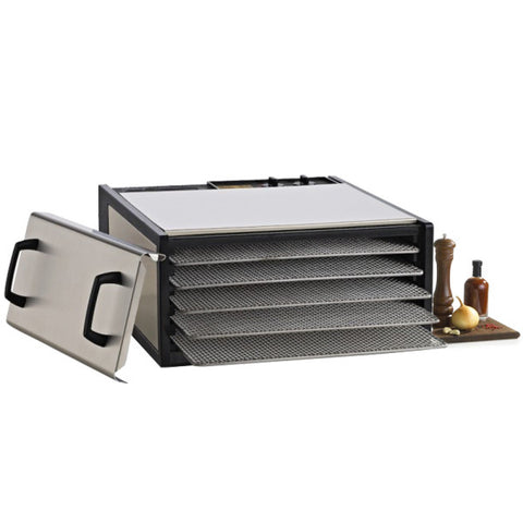 EXCALIBUR 5-Tray Outer Case Stainless Steel w/Stainless Steel Trays<br/>5 層不鏽鋼乾果機 (共4色)