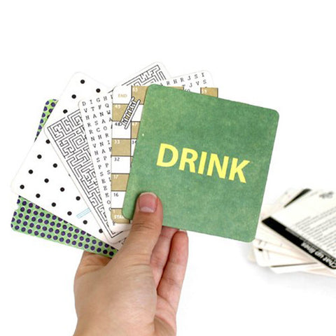 SUCK UK Bar Games Beer Mats<br/>化解尷尬的小遊戲杯墊 - Shark Tank Taiwan