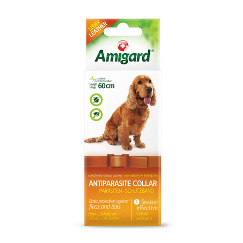 AMIGARD Spot-On Antiparasite Collar<br/>安美佳天然驅蚤項圈 - 狗狗專用 - Shark Tank Taiwan