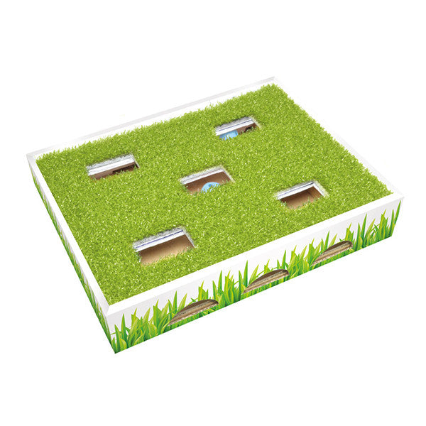 PETSTAGES Grass Patch Hunting Box<br/>草地迷蹤球 - Shark Tank Taiwan