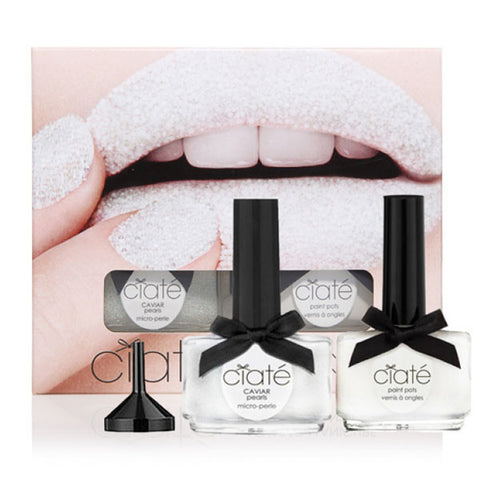CIATÈ Caviar Manicure Set - Mother of Pearl<br/>魚子醬指甲油組合 - 珠母貝 - Shark Tank Taiwan