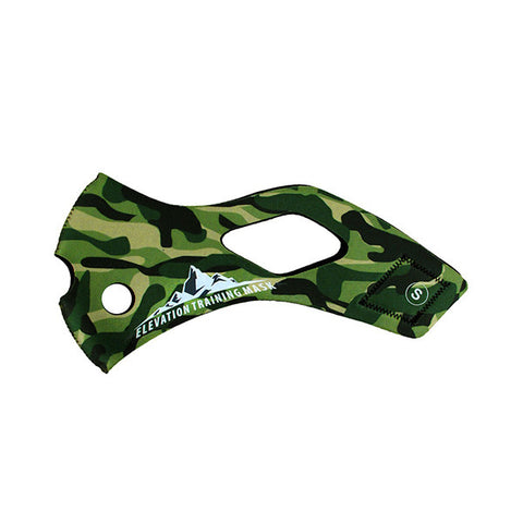 TRAINING MASK Sleeve Solid - Jungle<br/>配件 - 替換面套 (叢林)