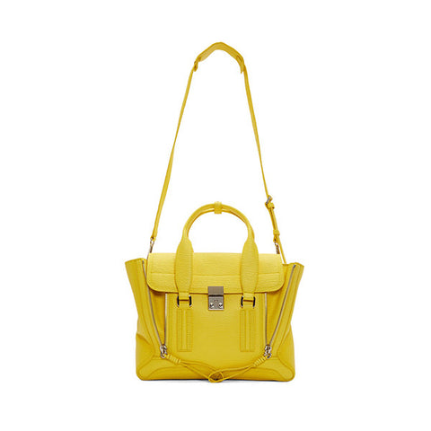 3.1 PHILLIP LIM Medium Pashli Satchel (AS15-0179SKC-Daffodil)