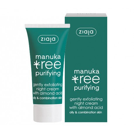ZIAJA Manuka Tree - Purifying - Gently Exfoliating Night Cream With Almond Acid<br/>松紅梅煥膚晚霜