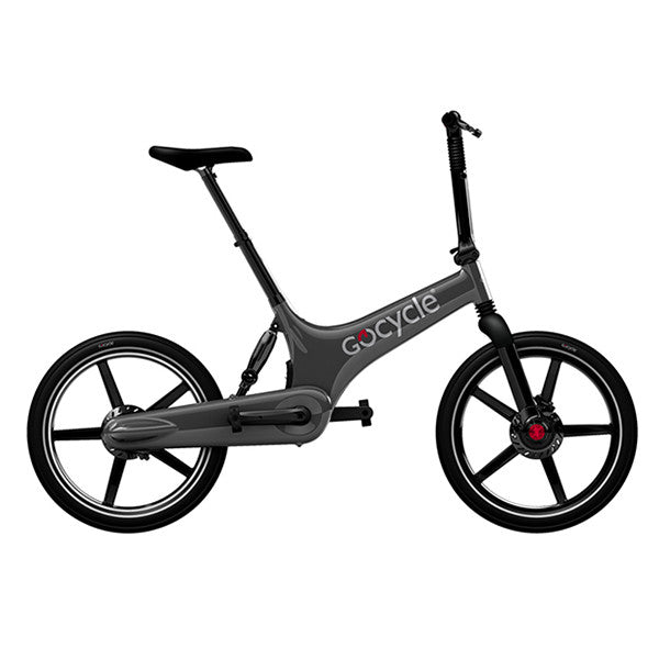 GOCYCLE G2 Portable Electric Bike - Gunmetal Grey<br/>折疊電動輔助自行車 - 酷炫灰 - Shark Tank Taiwan