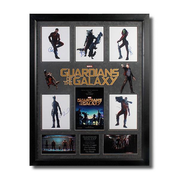 Guardians of Galaxy  Autographed Photos<br/>星際異攻隊演員簽名 - Shark Tank Taiwan