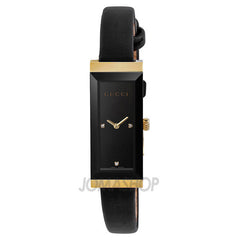 Gucci G-Frame Black Dial Black Satin Ladies Watch YA127506 (51% off) - Shark Tank Taiwan