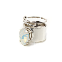 Lightening Bug - Ring - Silver with Opal - Shark Tank Taiwan