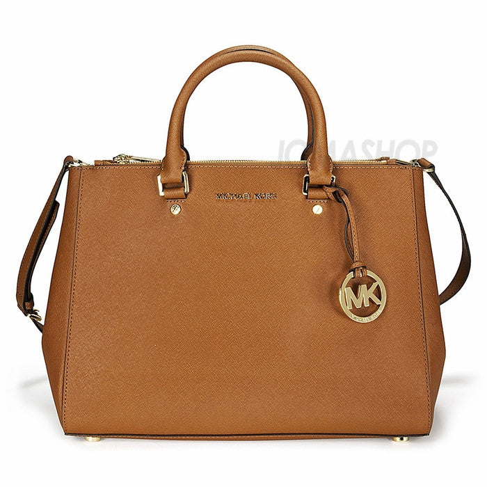 Michael Kors - Jet Set Travel Dressy Saffiano Leather Large Tote (35% off) - Shark Tank Taiwan