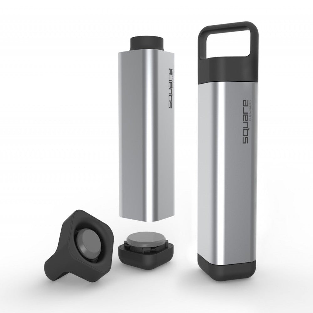 Clean Bottle - The Square - BPA Free Water Bottle - Shark Tank Taiwan