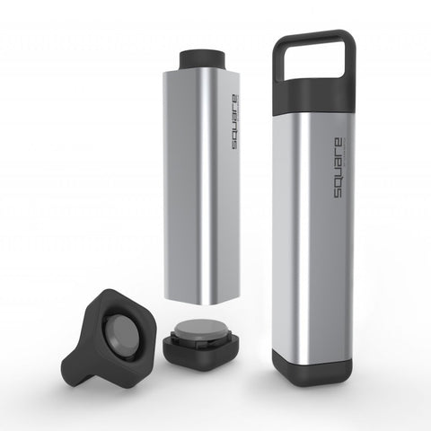 Clean Bottle - The Square - BPA Free Water Bottle