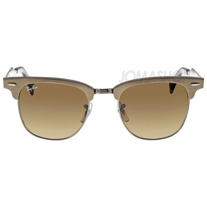 Ray Ban - Clubmaster Light Brown 51mm Sunglasses (34% off) - Shark Tank Taiwan