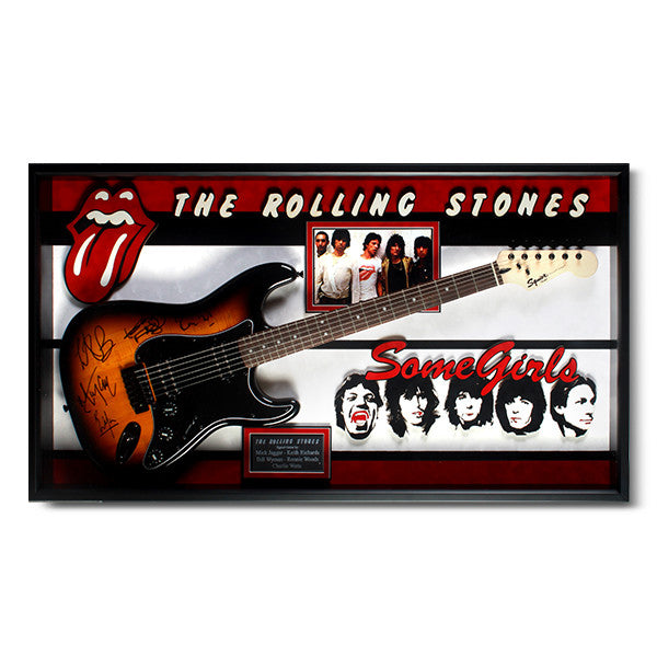 Rolling Stone Autographed Guitar<br/>滾石樂團簽名吉他 - Shark Tank Taiwan