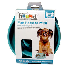 OUTWARD HOUND Slo-Bowl Drop Slow Feeder<br/> 水滴慢食碗 (小) - Shark Tank Taiwan