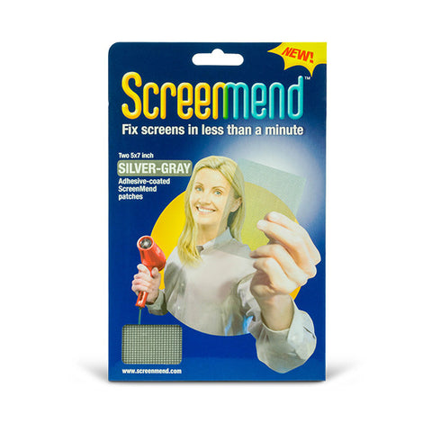 SCREENMEND Adhesive-Coated Screen Repair Patch<br/>紗窗修補貼片 (共2色)