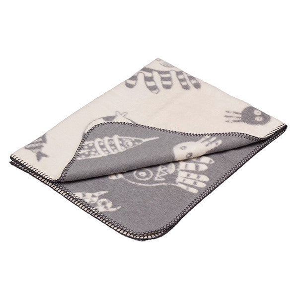 FABULOUS GOOSE Cotton Blanket<br/>超柔軟刷毛棉毯 - 海底世界 (共2色) - Shark Tank Taiwan
