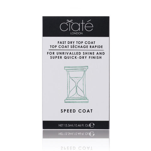 CIATÈ  Speed Coat<br/>指甲快乾亮色油 - Shark Tank Taiwan