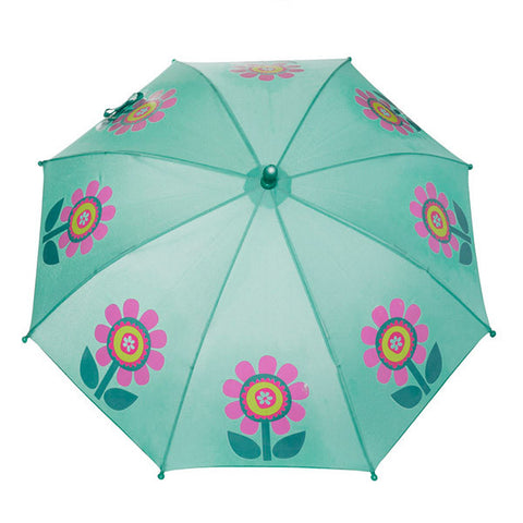 SQUIDKIDS Children's Colour Changing Umbrella - Flower<br/>快樂變色雨傘 - 心花朵朵 - Shark Tank Taiwan
