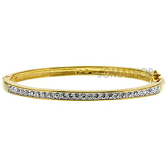 Swarovski - Channel-Set Gold-Plated Bangle 956714 (30% off) - Shark Tank Taiwan
