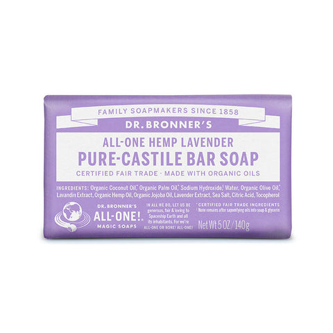 DR. BRONNERS Pure Castile Bar Soap - Lavender<br/>薰衣草潔膚皂