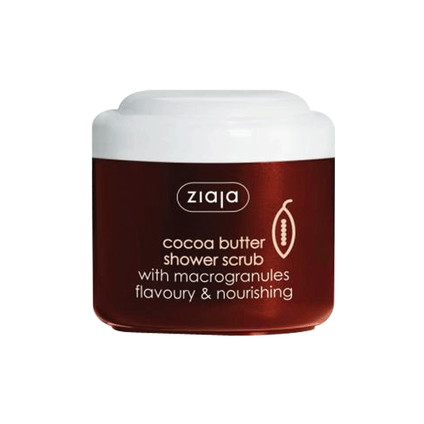ZIAJA Cocoa Butter Shower Scrub<br/>可可亞身體去角質 (200ml) - Shark Tank Taiwan