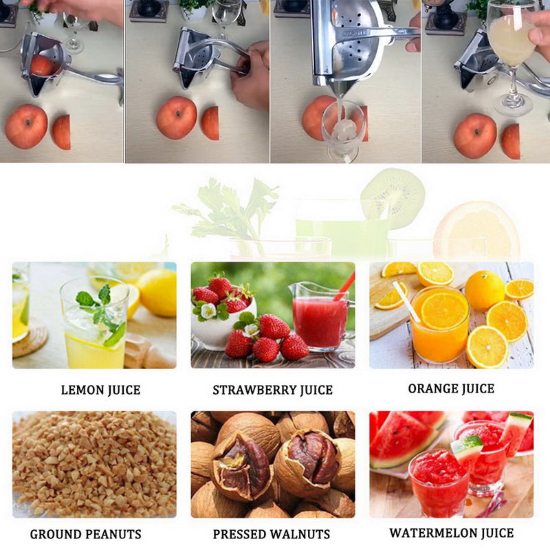 Stainless Steel Fruit Juicer (Buy 2 Free Shipping)