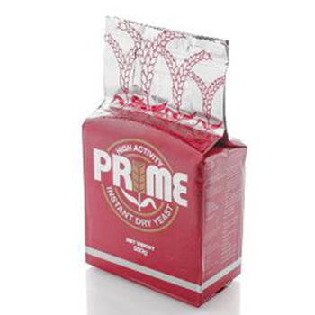 Prime Instant Yeast DRY (Low) 500g